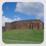 Castle showing half moon tower, Chester, Sticker