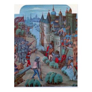 Castle Siege Postcard