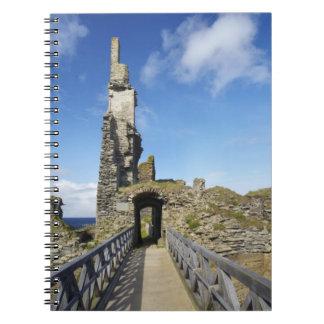 Castle Sinclair Girnigoe Wick Caithness 2 Spiral Note Books