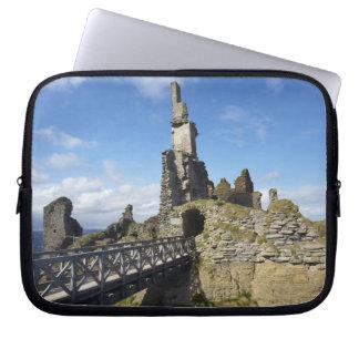Castle Sinclair Girnigoe, Wick, Caithness, Laptop Sleeve