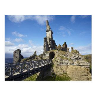 Castle Sinclair Girnigoe, Wick, Caithness, Postcard