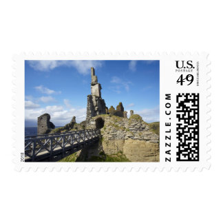 Castle Sinclair Girnigoe, Wick, Caithness, Stamp