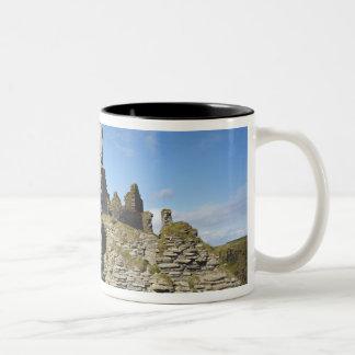 Castle Sinclair Girnigoe, Wick, Caithness, Two-Tone Coffee Mug