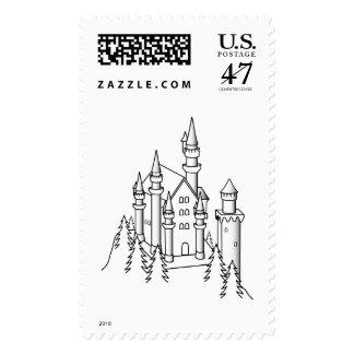 Castle Sketch Postage