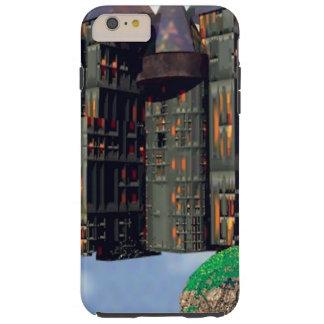Castle Sky Digital Surrealism iphone6 cases scifi Tough iPhone 6 Plus Case