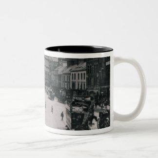 Castle Square, Belfast, c.1902 Two-Tone Coffee Mug