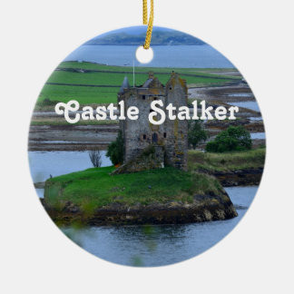 Castle Stalker Ceramic Ornament