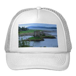 Castle Stalker in Scotland Mesh Hats