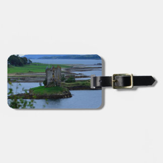 Castle Stalker in Scotland Tag For Luggage