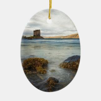 Castle Stalker, Scotland Ceramic Ornament