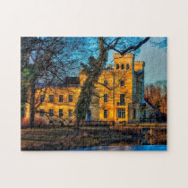 Castle Steinhöfel Brandenburg Germany. Jigsaw Puzzle
