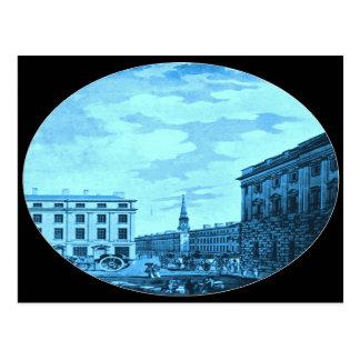 Castle Street, Liverpool, 1792 Postcard