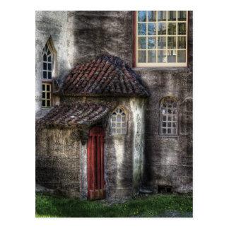 Castle - The hidden door in the back Postcard