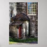 Castle - The hidden door in the back Print