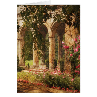 Castle - The Secret Garden Greeting Cards
