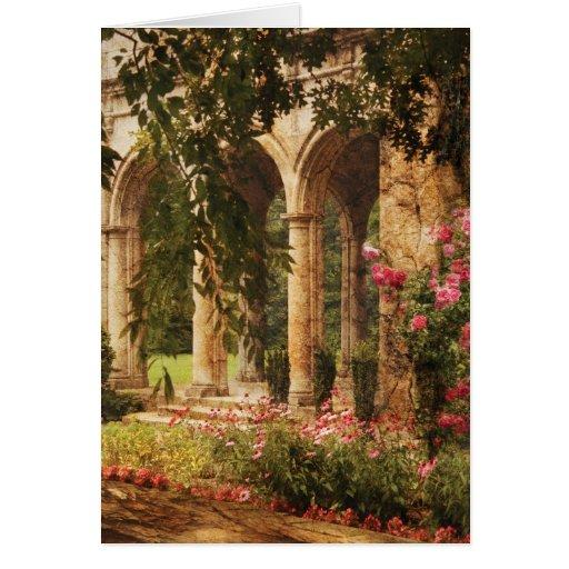 Castle - The Secret Garden Greeting Card