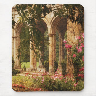 Castle - The Secret Garden Mouse Pad
