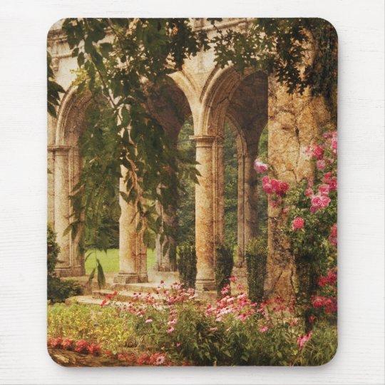 Castle - The Secret Garden Mouse Pad