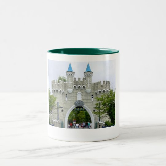 Castle Two-Tone Coffee Mug