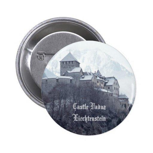 Castle Vaduz Liechtenstein Pins