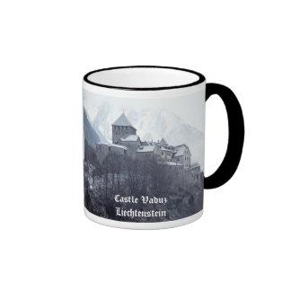 Castle Vaduz Liechtenstein Ringer Coffee Mug