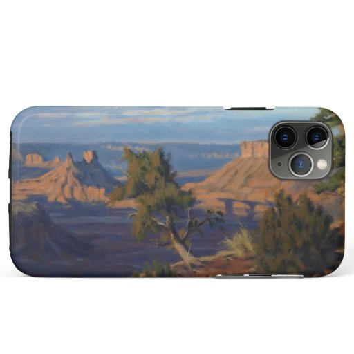 Castle Valley Utah Impressionistic Oil Painting iPhone 11 Pro Max Case
