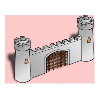 Castle Wall Postcard