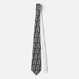 Castle walls neck tie