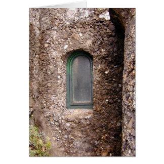Castle Window Card