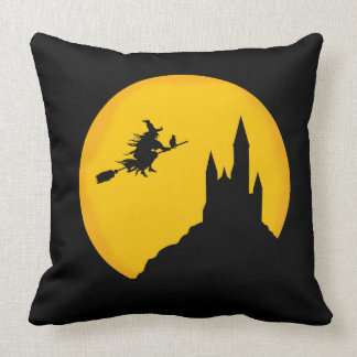 """Castle Witch Throw Pillow 20"""" x 20"""""""
