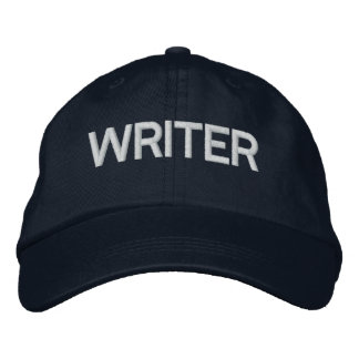 Castle Writer's Hat Embroidered Baseball Cap