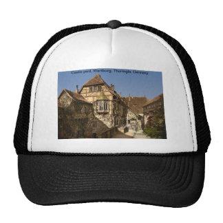 Castle yard, Wartburg, Thuringia, Germany Mesh Hat