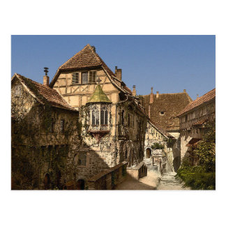 Castle yard, Wartburg, Thuringia, Germany Postcard