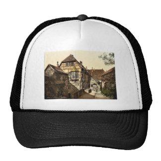 Castle yard, Wartburg, Thuringia, Germany rare Pho Hats