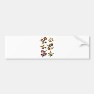 Castlemane Jacobean Embroidery Bumper Sticker