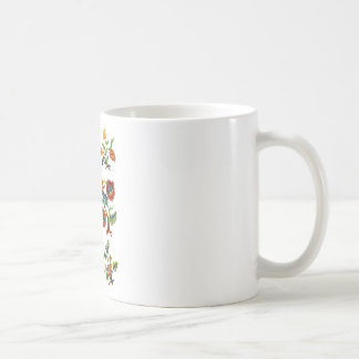 Castlemane Jacobean Embroidery Coffee Mug