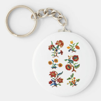 Castlemane Jacobean Embroidery Keychain