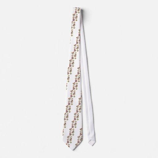 Castlemane Jacobean Embroidery Tie
