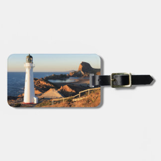 Castlepoint lighthouse in the Wairarapa Travel Bag Tag