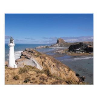 Castlepoint Lighthouse Photo Art