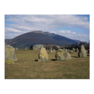 Castlerigg Stone Circle, near Keswick, Lake Distri Post Cards