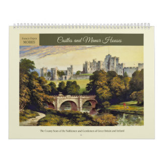 Castles and Manor Houses 2018 Calendar