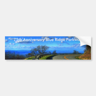Castles in the air, 75th Anniversary Blue Ridge... Bumper Sticker