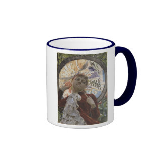 Castles in The Air by Anders Zorn Ringer Coffee Mug