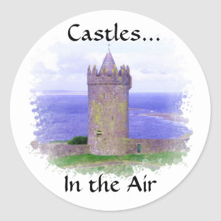 Castles in the Air Sticker