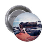 Castles In The Sand Pinback Buttons