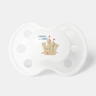 Castles Made Of Sand Baby Pacifier