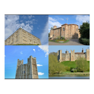 Castles of East Anglia Postcard