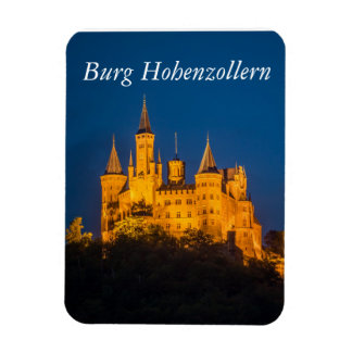 Castles of Germany - Hohenzollern Photo Magnet