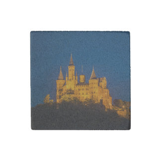 Castles of Germany - Hohenzollern Stone Magnet